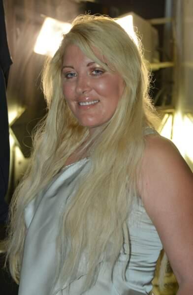 Loana assiste à un concert à Nice en août 2012
