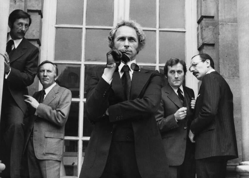Le retour du grand blond en 1974
