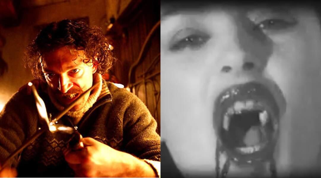 Enfin dans Sheitan de Kim Chapiron (2006) où Monica fait une très courte apparition... en vampire