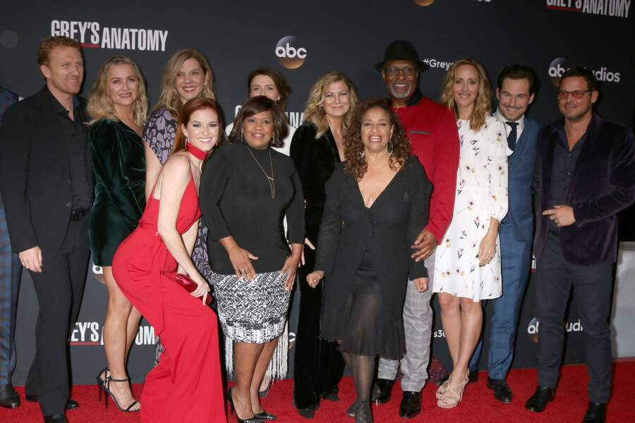 Ils viennent d'ailleurs de fêter tous ensemble le 300e épisode de Grey's Anatomy !