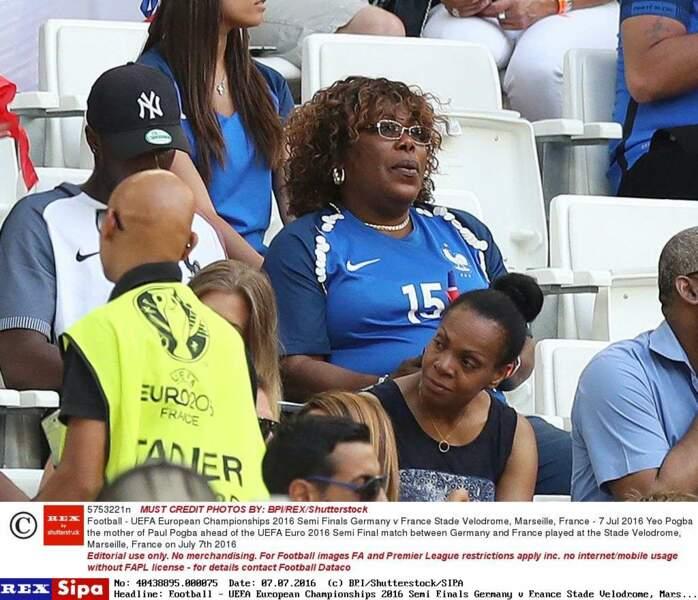 La maman de Paul Pogba était également dans les tribunes