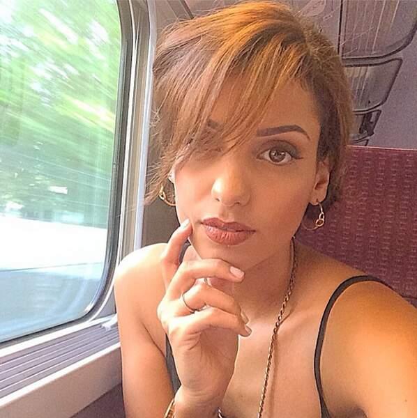 Ou faire des selfies dans le train !