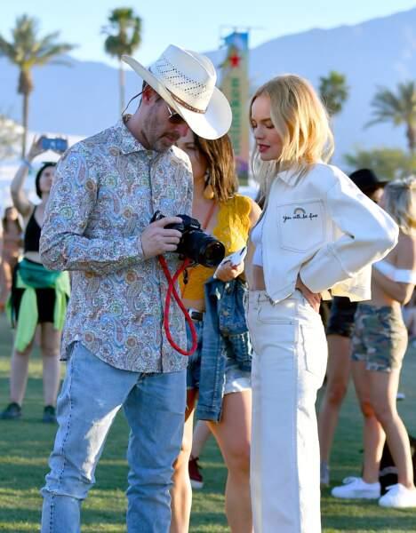 Kate Bosworth et son mari Michael Polish