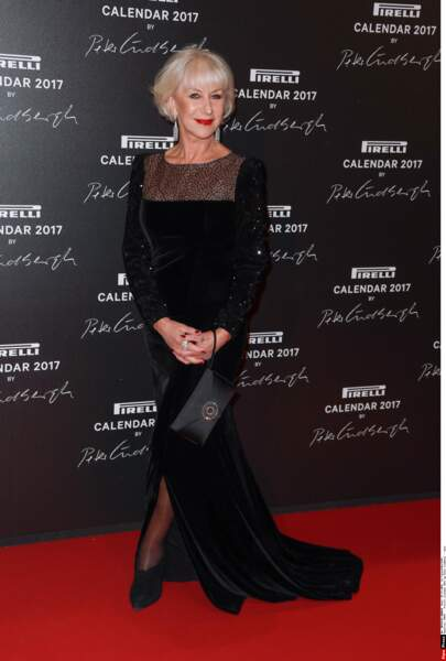 Magnifique Helen Mirren !