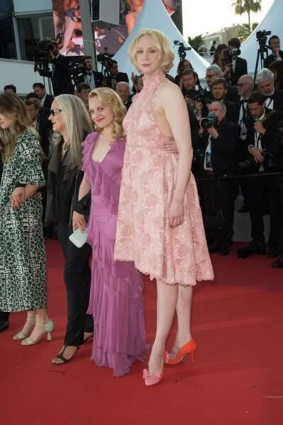 Elisabeth Moss et Gwendoline Christie, insolites côte-à-côte