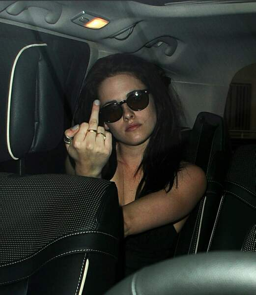 Kristen Stewart vous salue bien !