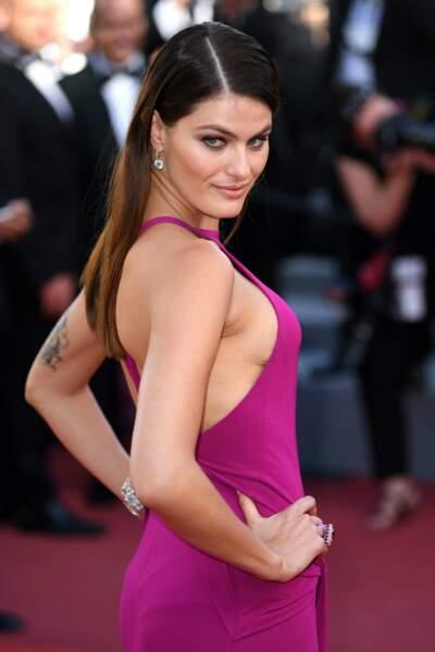 Isabeli Fontana au Festival de Cannes