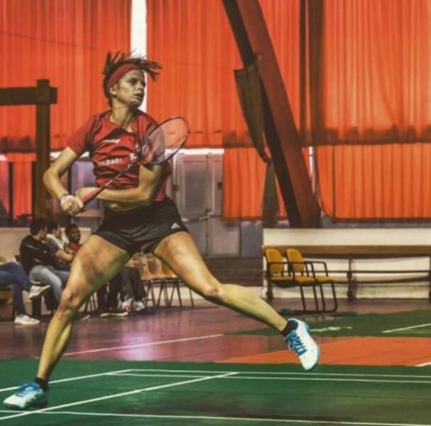 Clémentine, aventurière de Koh-Lanta Cambodge, est entraîneur de badminton