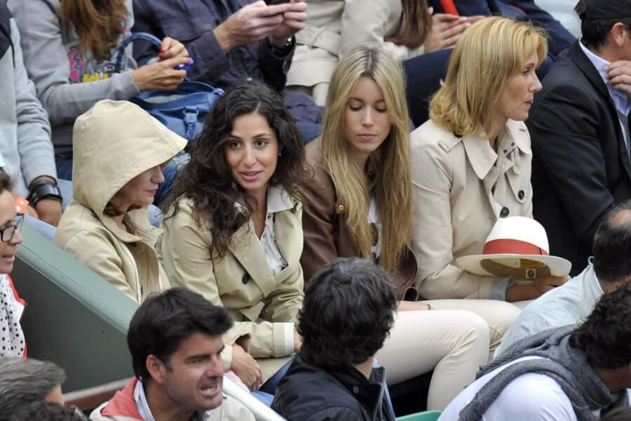 Xisca Perello, la compagne de Rafael Nadal était également présente.