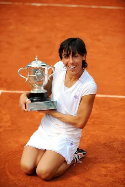 L'Italienne Francesca Schiavone remporte Roland-Garros en 2010