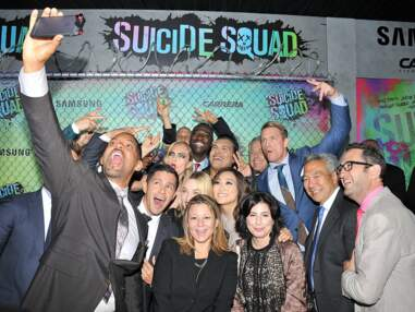 Suicide Squad : Jared Leto, Margot Robbie, Cara Delevingne... défilé de tenues loufoques à l'avant-première américaine