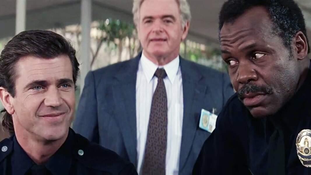 Difficile de canaliser les fortes têtes Riggs et Murtaugh. N'est-ce pas capitaine Ed Murphy (alias Steve Kahan) ?
