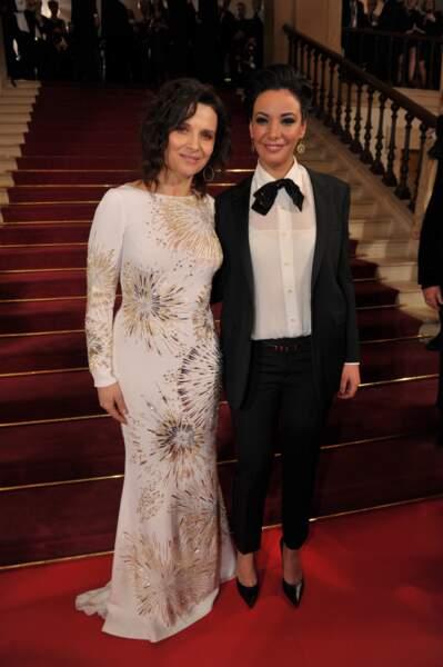 Juliette Binoche et Loubna Abidar