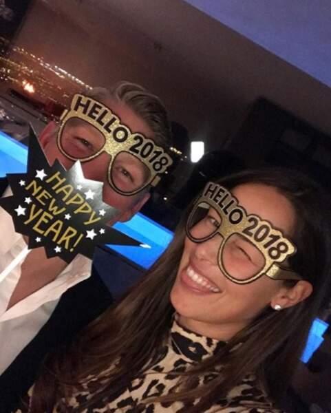 La tenniswoman Ana Ivanovic et son chéri, le footballeur Bastian Schweinsteiger, avec leur brin de folie !
