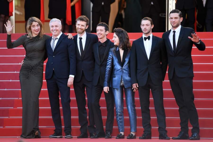 Adele Haenel, Robin Campillo, Antoine Reinartz, Aloise Sauvage, Felix Maritaud et Arnaud Valois