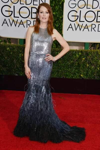 Julianne Moore et sa robe scintillante