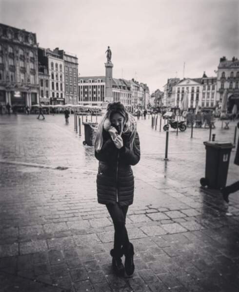 Et même le nord, ici à Lille, dont elle est originaire.