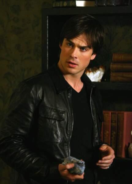 Ian Somerhalder interprétait le ténébreux Damon...