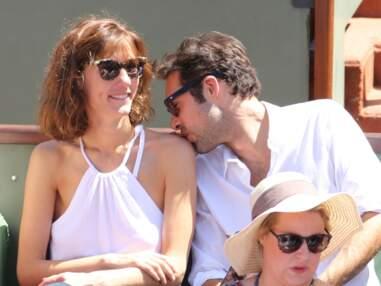 Doria Tillier et Nicolas Bedos très complices... Les people à Roland-Garros