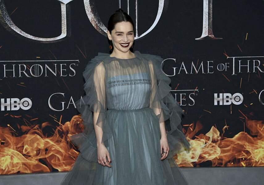 Emilia Clarke et son sourire légendaire !
