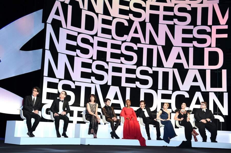 Le jury du 68ème Festival de Cannes lors de la cérémonie d'ouverture
