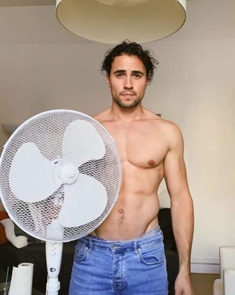 Parfois, on aimerait être un ventilateur.
