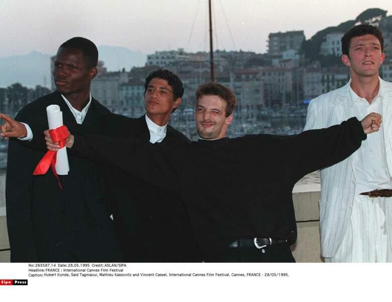 La haine, vu comme un pamphlet anti-flic, le service d'ordre boycotte la montée des marches des acteurs en 1995