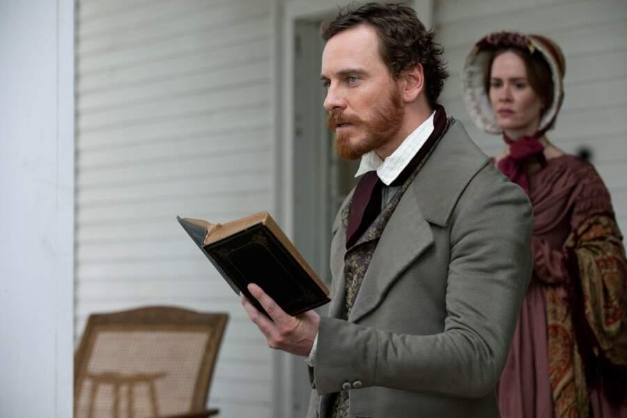 Barbe rousse et costume trois pièces dans Twelve Years a Slave (2013)