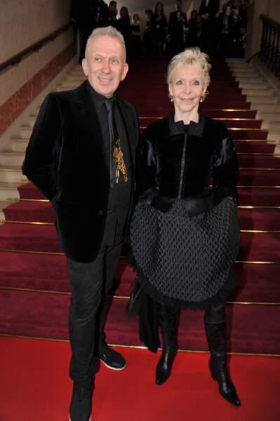 Jean-Paul Gaultier et la réalisatrice Tonie Marshall