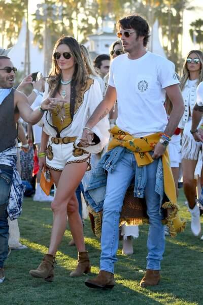 Alessandra Ambrosio et son petit ami Nicolo Oddi