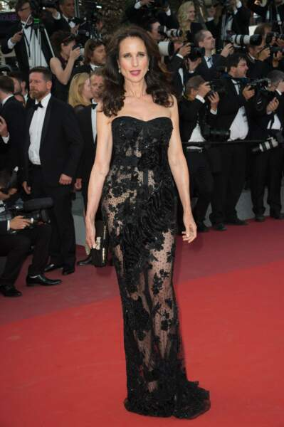 Andie MacDowell : classe, sexy... On continue ?