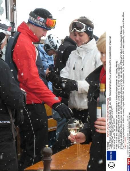Mars 2007 : seconde séparation du couple après des vacances à Zermatt, en Suisse