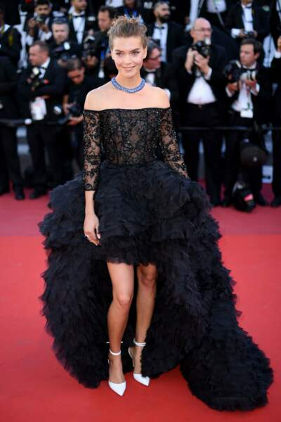 Arizona Muse au Festival de Cannes