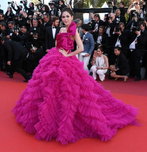 Araya Hargate au Festival de Cannes