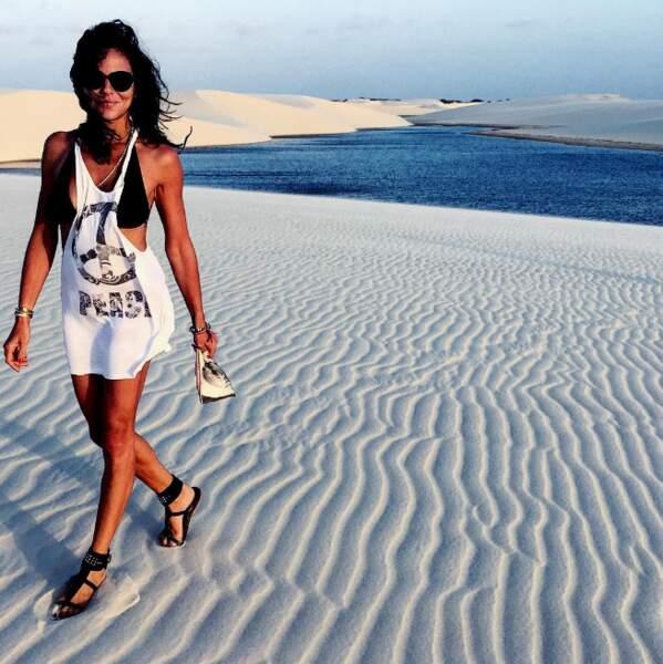 Un endroit exceptionnel où les lagunes se confondent avec les dunes.