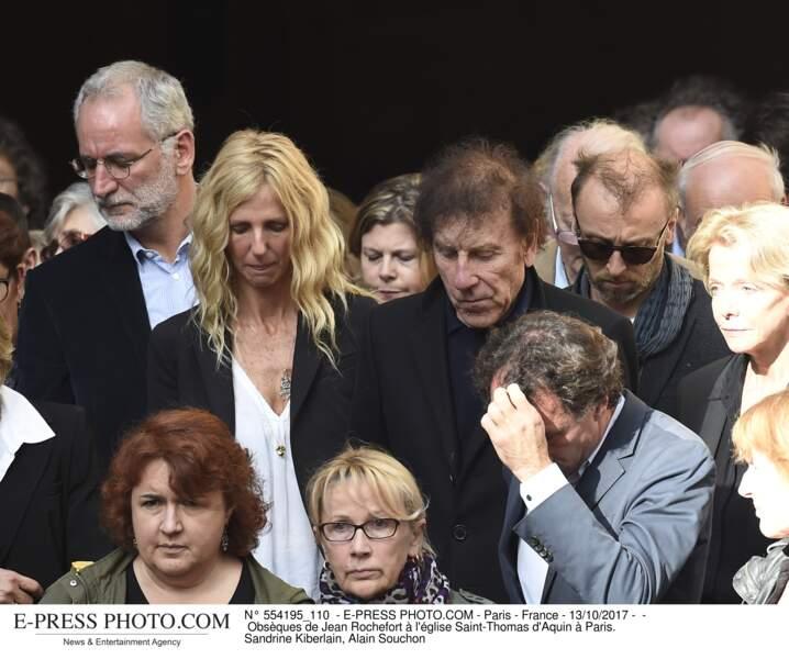 Sandrine Kiberlain et Alain Souchon