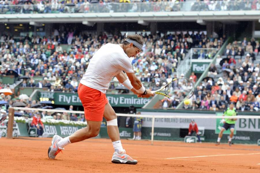 Rafael Nadal imperturbable a repris sa marche en avant...