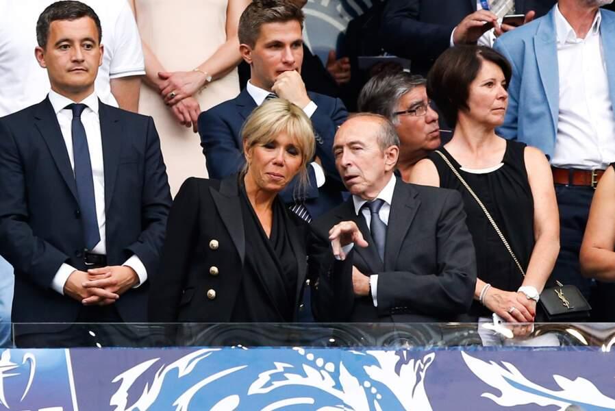 En cas de doute sur une action, elle pouvait compter sur le Lyonnais Gérard Collomb