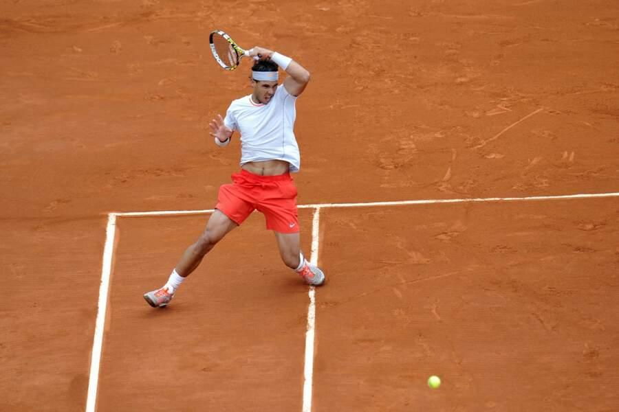 Rafael Nadal tout de suite dans son match...