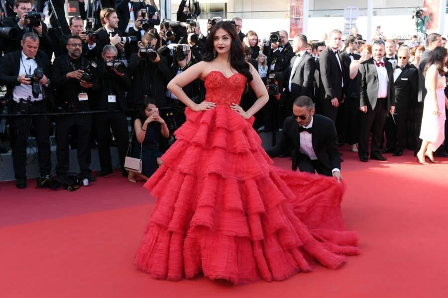 Aishwarya Rai Bachchan au Festival de Cannes