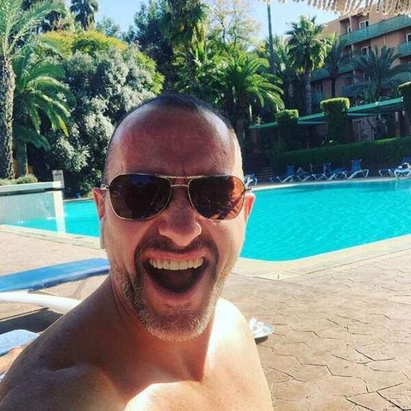 Pascal Soetens, lui, a préféré la chaleur de Marrakech...