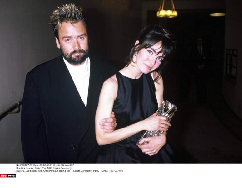 A la fin des années 80, Luc Besson tombe amoureux d'Anne Parillaud. Il lui offrira le rôle principal dans Nikita