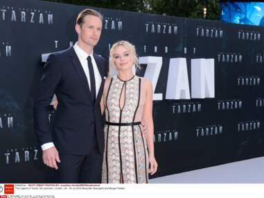 Tarzan : Margot Robbie et Alexander Skarsgård, couple glamour pour l'avant-première du film à Londres