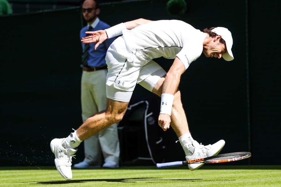 Colérique, Andy Murray ? A peine...