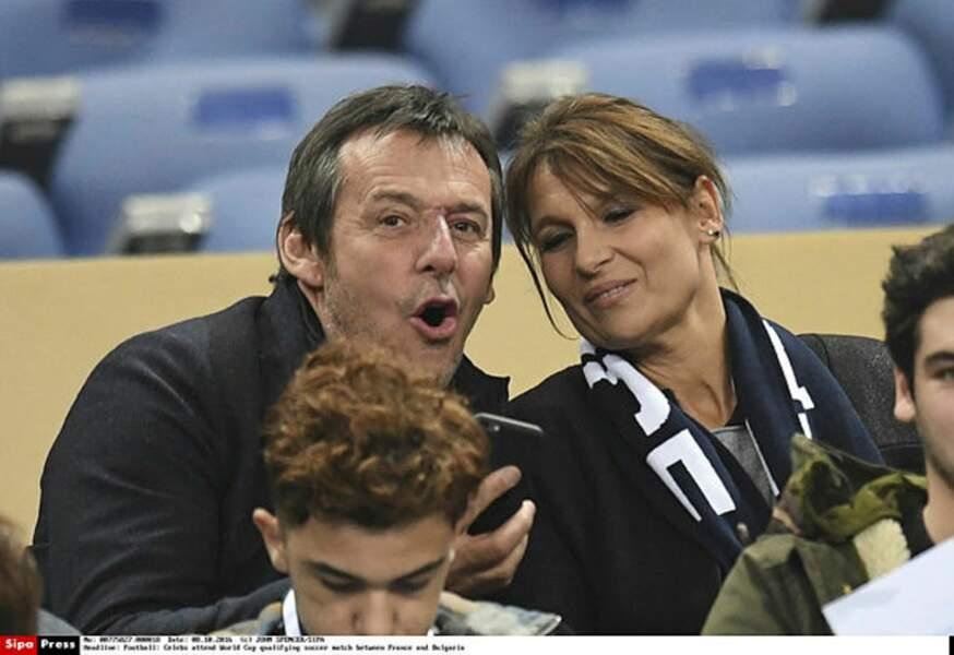 Jean-Luc Reichmann et son épouse Nathalie roulent pour l'équipe de France