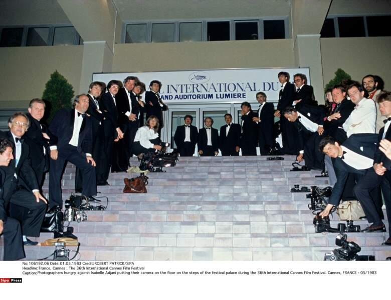 """En 1983, les photographes boycottent Isabelle Adjani pour son """"comportement de diva"""""""