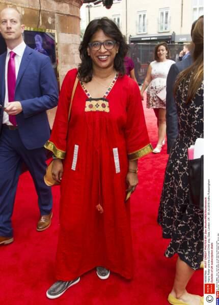 La directrice de théâtre Indhu Rubasingham