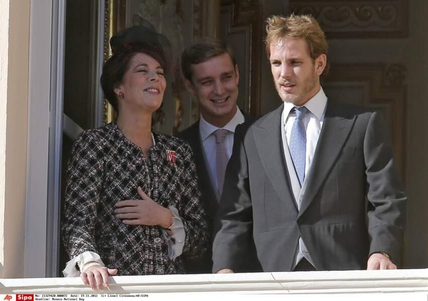 Pierre et Andrea, ses fils, sa vraie fierté