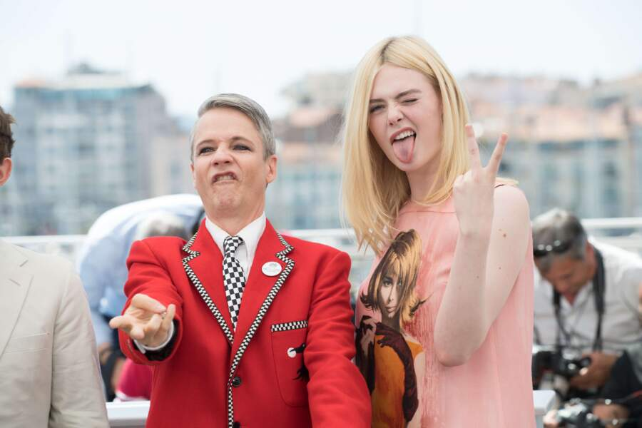 John Cameron Mitchell et Elle Fanning en mode rebelle