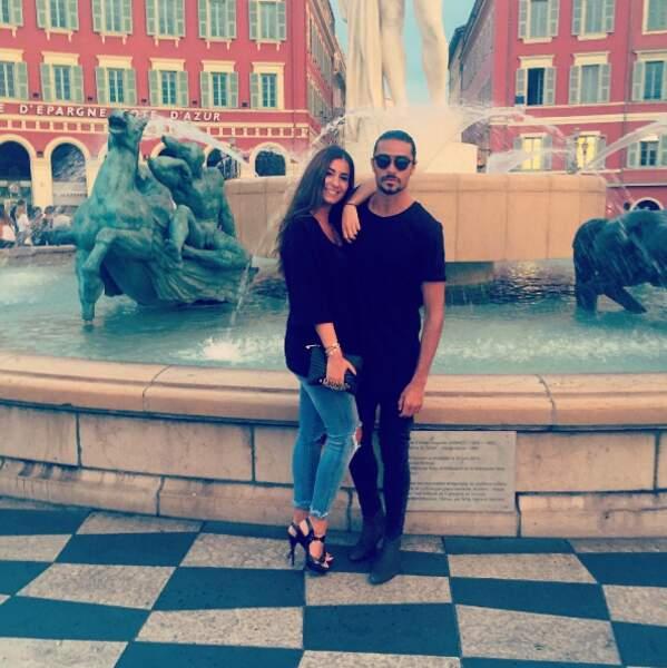 Julien Guirado et Martika ont affiché leur amour au grand jour.